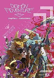 """Filmplakat für """"Digimon Adventure tri. - Chapter 5: Coexistence"""""""