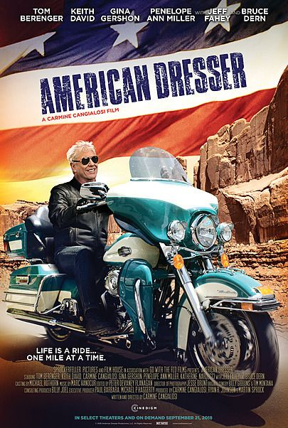 "Movie poster for ""AMERICAN DRESSER"""