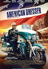 """Movie poster for """"AMERICAN DRESSER"""""""