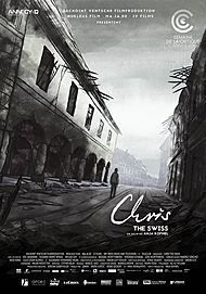 """Movie poster for """"CHRIS THE SWISS"""""""