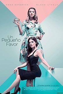 "Movie poster for ""A SIMPLE FAVOR"""