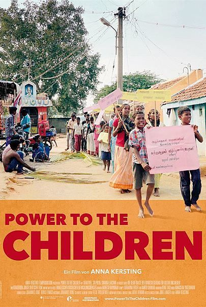 "Filmplakat für ""Power to the Children - Kinder an die Macht"""