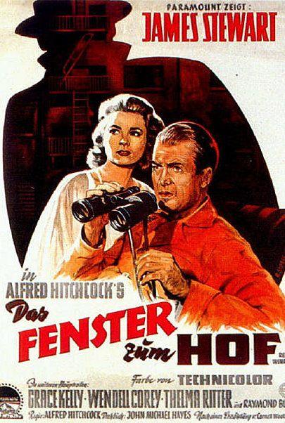 """Filmplakat für """"Das Fenster zum Hof"""""""