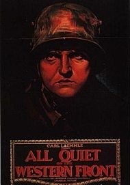 "Movie poster for ""All Quiet on the Western Front"""