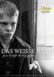"Movie poster for ""Das Weiße Band"""