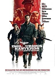 """Movie poster for """"INGLOURIOUS BASTERDS"""""""