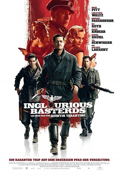 """Filmplakat für """"INGLOURIOUS BASTERDS"""""""
