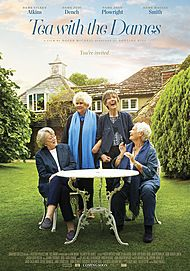 "Movie poster for ""Tea with the Dames"""