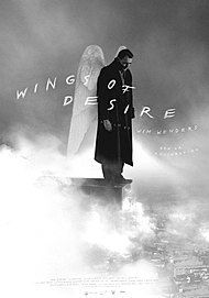 "Movie poster for ""WINGS OF DESIRE"""