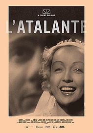 "Movie poster for ""L'ATALANTE"""