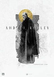 "Movie poster for ""ANDREI RUBLEV"""