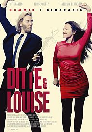 "Movie poster for ""DITTE & LOUISE"""
