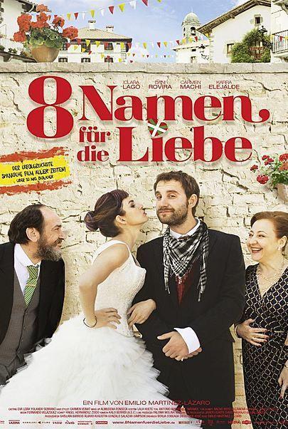 """Filmplakat für """"8 Namen für die Liebe"""""""