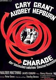 "Movie poster for ""Charade"""