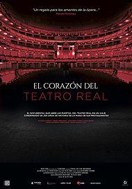 """Movie poster for """"EL CORAZON DEL TEATRO REAL"""""""