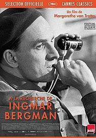"Movie poster for ""SEARCHING FOR INGMAR BERGMAN"""