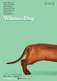 "Movie poster for ""WIENER-DOG"""