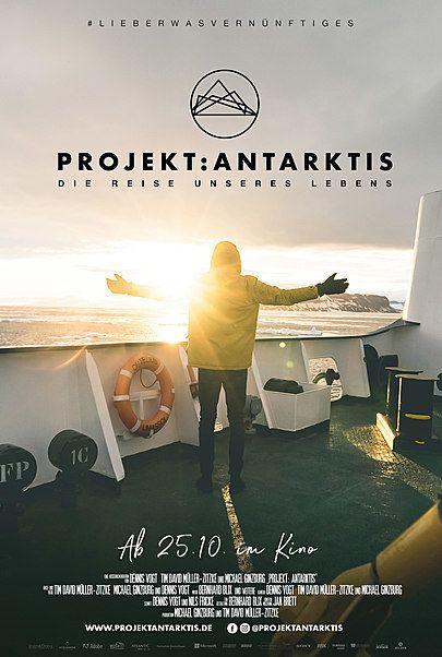 """Filmplakat für """"Projekt: Antarktis"""""""