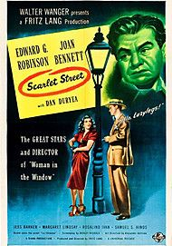 "Movie poster for ""SCARLET STREET"""