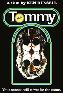 "Movie poster for ""TOMMY"""