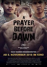 "Filmplakat für ""A Prayer Before Dawn"""