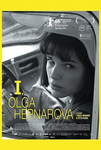 "Filmplakat für ""I, Olga"""