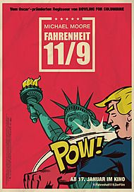 "Movie poster for ""FAHRENHEIT 11/9"""