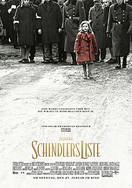 "Movie poster for ""SCHINDLER'S LIST"""