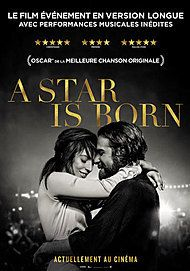 """Movie poster for """"A STAR IS BORN"""""""