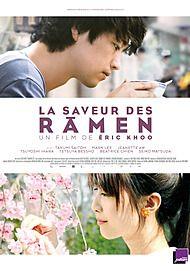 """Affiche du film """"LA SAVEUR DES RAMEN"""""""
