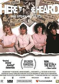 """Filmplakat für """"Here to Be Heard: The Story of the Slits"""""""