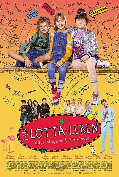 "Movie poster for ""Mein Lotta-Leben - Alles Bingo mit Flamingo"""