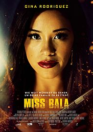 "Movie poster for ""MISS BALA"""