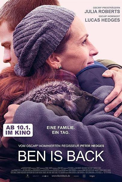"""Filmplakat für """"Ben is Back"""""""
