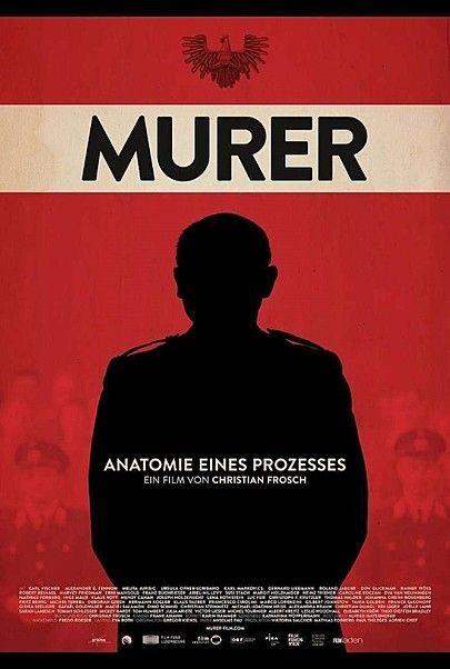 """Filmplakat für """"Murer - Anatomie eines Prozesses"""""""