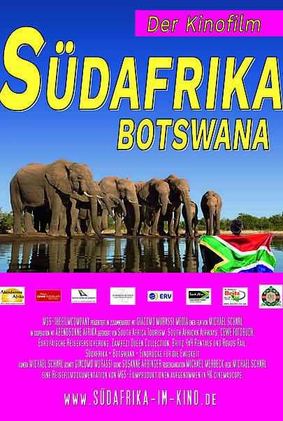 "Filmplakat für ""Südafrika + Botswana"""