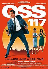 "Movie poster for ""OSS 117: CAIRO, NEST OF SPIES"""