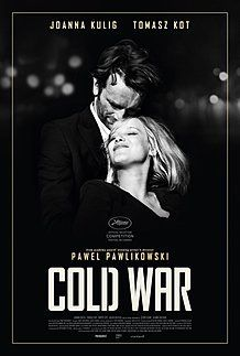 "Affiche du film ""COLD WAR"""