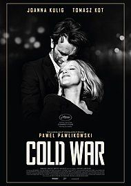 "Movie poster for ""COLD WAR"""