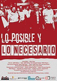 """Movie poster for """"LO POSIBLE Y LO NECESARIO"""""""