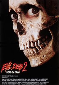 "Movie poster for ""EVIL DEAD 2 (4K Restoration Re-Issue)"""