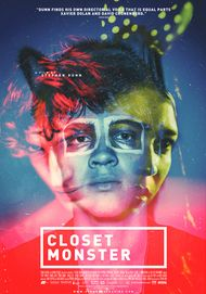 "Movie poster for ""CLOSET MONSTER"""