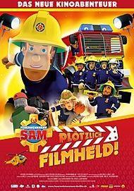 "Movie poster for ""Fireman Sam: Hollywood Hero"""