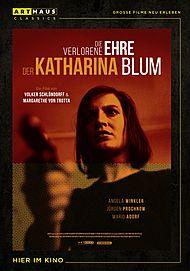 """Movie poster for """"Die verlorene Ehre der Katharina Blum"""""""