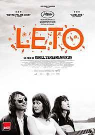 "Movie poster for ""LETO"""
