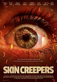 """Movie poster for """"Skin Creepers"""""""