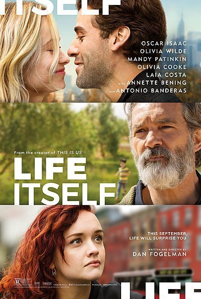 "Movie poster for ""LIFE ITSELF"""