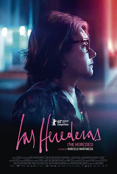 """Movie poster for """"THE HEIRESSES"""""""