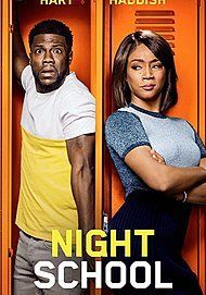 """Movie poster for """"NIGHT SCHOOL"""""""