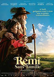 """Affiche du film """"REMI SANS FAMILLE"""""""